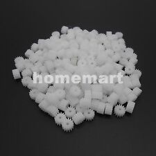 50PCS 14T Plastic Spur Gear 0.5 Modulus Aperture 2mm Accessories Teeth=14 1.95MM