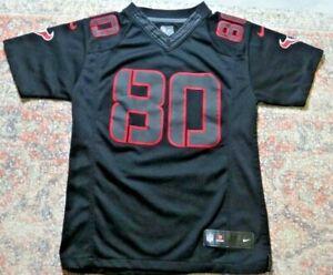 RARE Black Nike On Field Houston Texans #80 Andre Johnson Jersey~Youth M 10/12