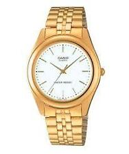 CASIO MTP-1129N-7A GOLD PLATED WATCH FOR MEN - COD + FREE SHIPPING