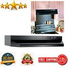 Under-Cabinet Range Hood Insert ADA Capable 30-Inch Black Ducted Kitchen Top photo