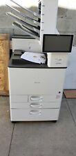 Ricoh SP C840DN.color printer. low meter.new supplies. Xante envelope printer