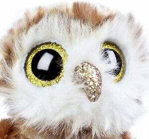 """TY Beanie Boos Collection Percy The Barn Owl 6"""" Collectable Bird Plush Soft Toy"""