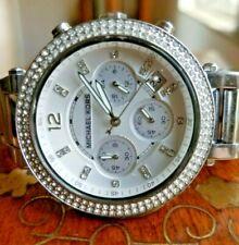 Ladies Michael Kors Parker Silver Chronagraph MK5353