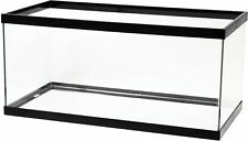 Aqueon Aquarium Standard Glass Rectangle Breeder Black 40 Gallon