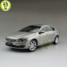 1/18 Volvo S60 S60L T5 Diecast Model Car Gray Seashell Color