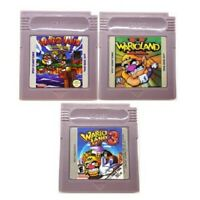 Wario Land Super Mario GBC Game Boy Color English language Video Game