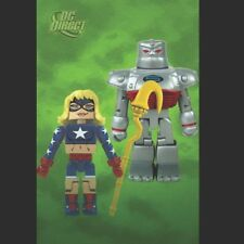 DC MINIMATES Series 6 STARGIRL & S.T.R.I.P.E. - Mint/New in Sealed Packaging!