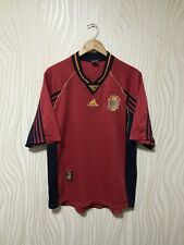 SPAIN 1998 1999 HOME ADIDAS FOOTBALL SOCCER SHIRT JERSEY