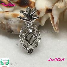 Hawaiian Pineapple Pearl Pendant - 925 Sterling Silver - Fun Gift!!