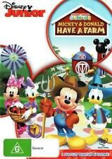 Mickey Mouse Clubhouse: Mickey and Donald Have a Farm  - DVD - NEW Region 4