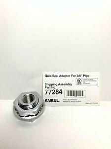 """Ansul Quick Seal Adaptor 3/8"""" Pipe 77284"""