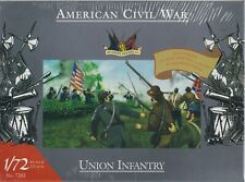 ACCURATE FIGURES 1/72 Scale Model Kit #7202 ACW UNION INFANTRY