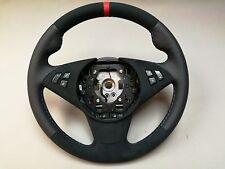 Bmw e60 e61 e63 e64 alcantara perforated leather anatomic sport steering wheel