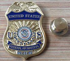 FAMS - Federal Air Marshals Service - 9/11/01 badge lapel pin
