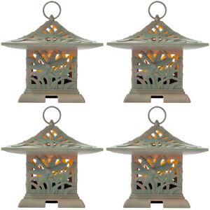 4pk Westinghouse LED Outdoor Fragrance Warmer Flameless Lantern & Air Freshener