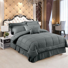 Comforter Set 10 Pieces Bed in a Bag Light Weight Soft Comforter Set All Size