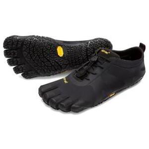 Vibram Five Fingers V-Alpha Mens Black Barefoot Running Walking Shoes Size 7-11