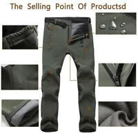 Men's Waterproof Outdoor Hiking Trousers Cargo Pants Casual Combat Trousers jzus