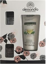 alessandro HANDS!UP HANDCREME GREEN TEE NAIL SET  (No 21-084)