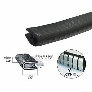 Car Weatherstrip Rubber Strip Seal Trim Push On Door Trunk Hood Pretty Strong 5M