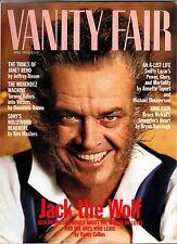 1994 Vanity Fair April - Salvador Dali; Jack Nicholson; Jennifer Grant;I Lazar