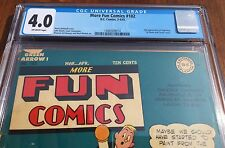 2nd APPEARANCE OF SUPERBOY!!! - More Fun Comics #102 (Mar-Apr 1945, DC) CGC 4.0