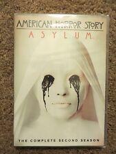 American Horror Story: Asylum - The Complete Second Season (DVD, 2013) NEW!!!