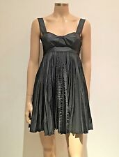 Sass & Bide Empire Line Little Black Dress Uk Size 6