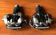 **SHIMANO PD-M520 SPD TWO SIDED MTB PEDALS BLACK BRAND NEW NO BOX**