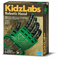 Robotic Hand Kit Domestic Personal Robots STEM Explore Science Grip Anatomy Toy