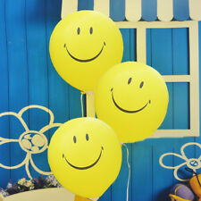 36inch Emoji Printed Smiley Face Latex Balloons for Birthday Party Holiday Decor