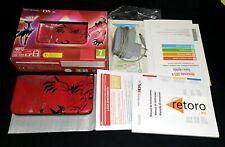 CONSOLE CONSOLA NINTENDO 3DS XL POKEMON XY Xerneas Yveltal RED +2 JUEGOS, SOL