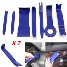 7pcs Blue Plastic Car Dashboard Door Radio Audio Trim Pry Open Removal Tool Kits