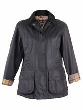 Barbour Beadnell Jacket Navy Blue Women's Retail $399