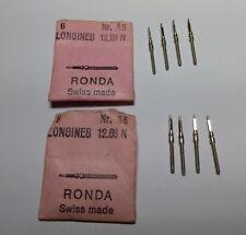 Lotto fornitura Longines Tige Orologi anni 70