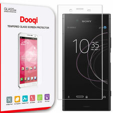Dooqi For Sony Xperia XZ1 Full Cover 3D Curved Tempered Glass Screen Protector