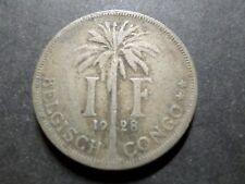 CONGO BELGE pièce/COIN de 1 FRANC 1928