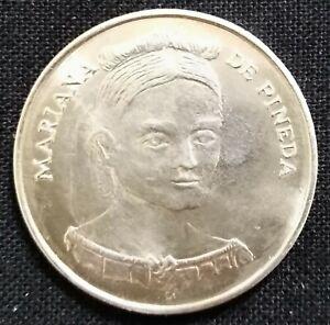 Mariana de Pineda moneda de plata Spain silver coin