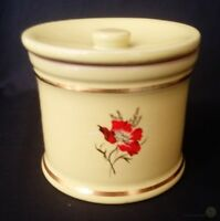 VTG Denby Pottery Cornflower Poppy Yellow Jar 9.5cm | FREE Delivery UK*