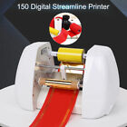 150 digital streamer printer, easy to use, easy to operate