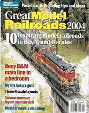 Great Model Railroads 2004 N Scale HO B&M Main Line Tacoma Museum UP C&O Pennsy