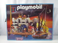 "PLAYMOBIL- ""DIFICIL CAJA VACIA BASTION COLONIAL REF. 3112 - EMPTY BOX"" -LUJO!"