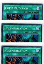 Polymerization (Fusion) FUEN-EN049 X 3 1st *English* YUGIOH