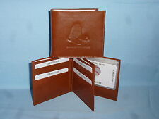 BOSTON RED SOX   Leather BiFold Wallet    NEW    brown 4 +