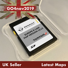 NEWEST RENAULT TomTom R-LINK V10.15 SD CARD EUROPE and UK MAP 2019 - 2020