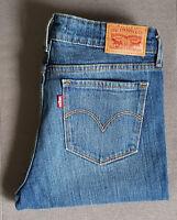 Damen Jeans LEVIS LEVI´S 712 Slim 18884-0060 Stitched Sky W27 L32