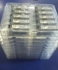 NEW LOT OF 100 GLC-LH-SM Cisco Compatible 1000BASE-LX SFP 10KM