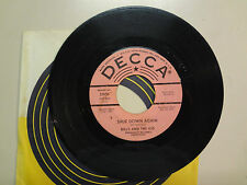 BILLY AND THE KID:Shut Down Again-Troubles Of My Own-Decca Records INC. 31951DJ