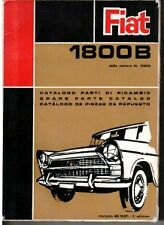 FIAT 1800B ILLUSTRATED PARTS CATALOGUE 1965 #603.10.073