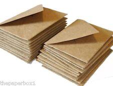 25 C7 RSVP Kraft Fleck Envelopes - small, mini